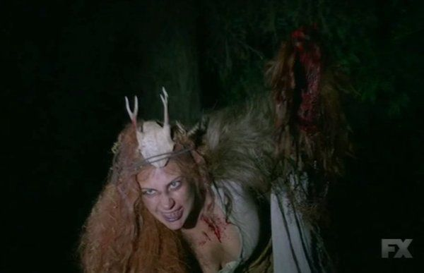 "This ""American Horror Story: Roanoke"" theory might explain Lady Gaga's creepy woodland nymph character"
