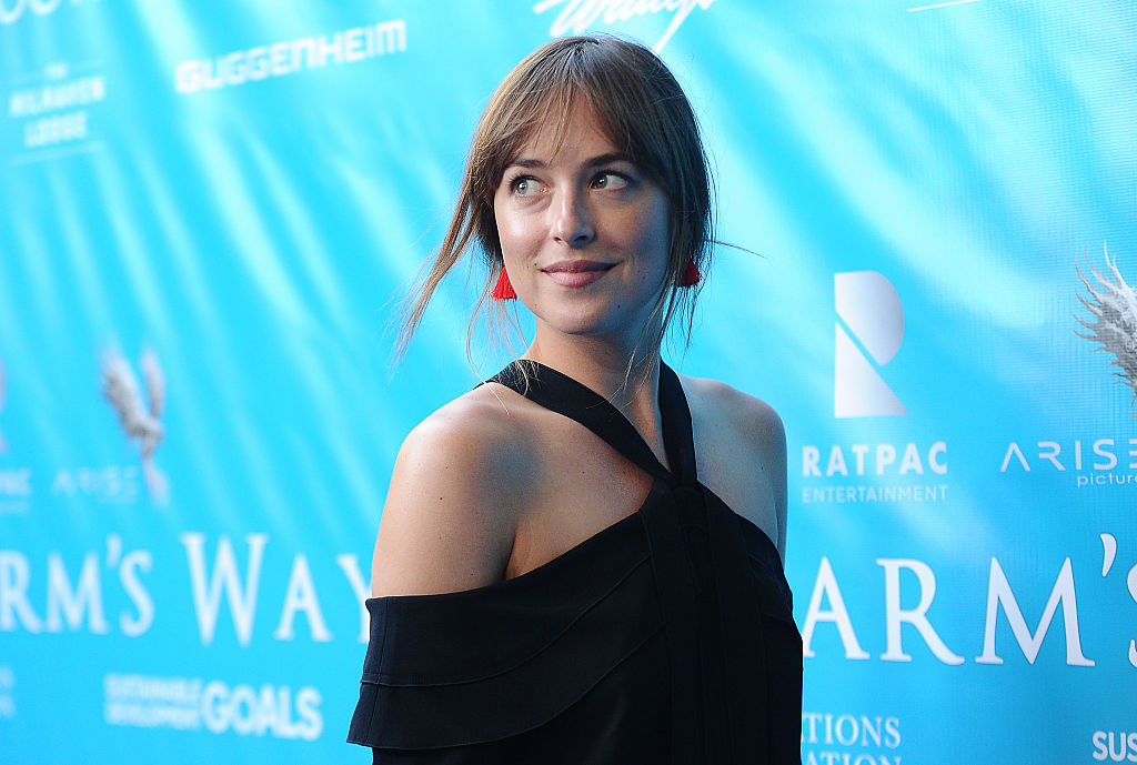 Dakota Johnson's t-shirt is one we've been looking for all our lives