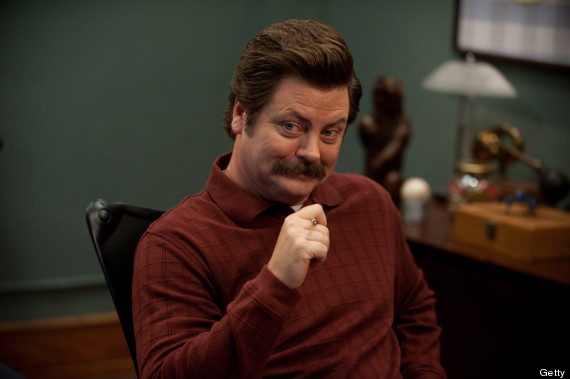 Nick Offerman talks about smashing the patriarchy and voting for Hillary