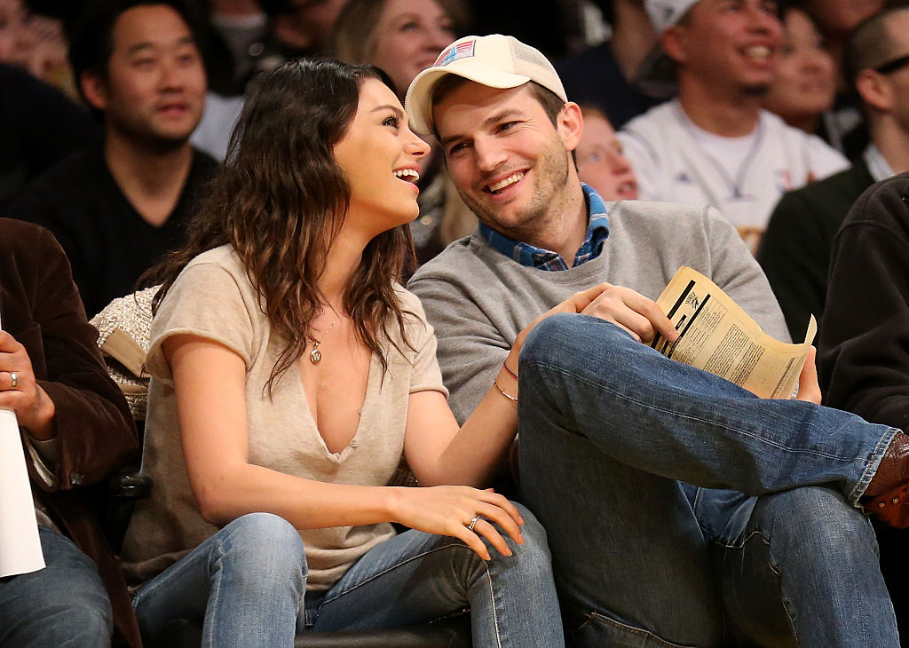Ashton Kutcher and Mila Kunis just revealed the gender of their second baby, and we're squee-ing all over the place