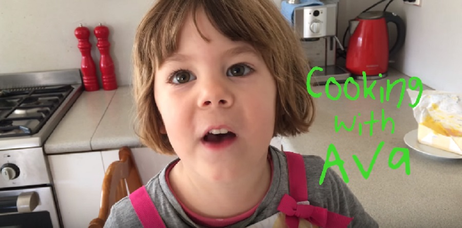 This 3-year-old YouTuber has the best cooking show ever, and also the best egg recipe
