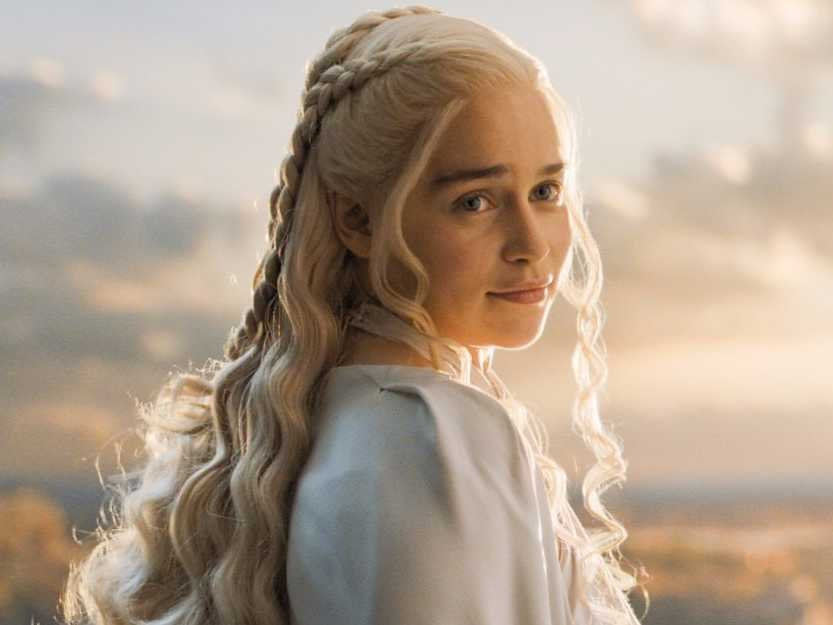"Emilia Clarke just posted the most adorably goofy message for us while filming ""Game of Thrones"""