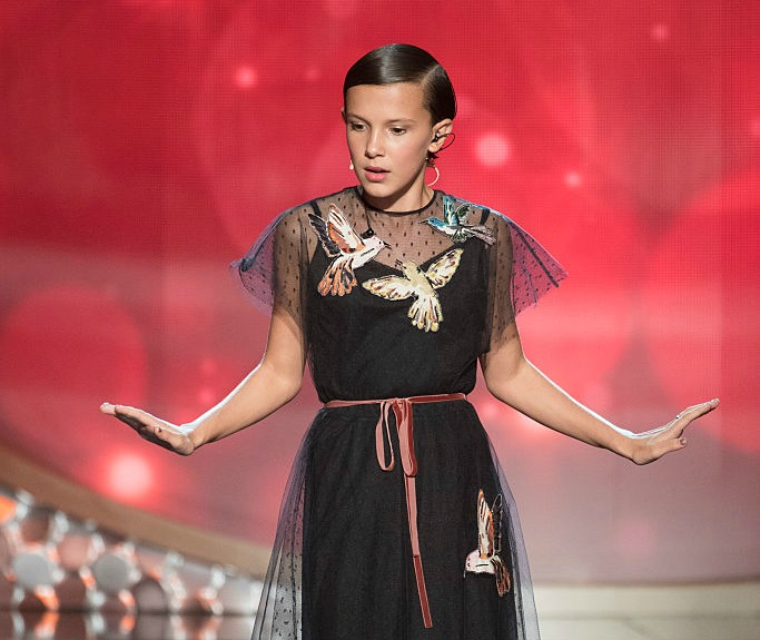 Millie Bobby Brown's first magazine cover is lacy grunge perfection