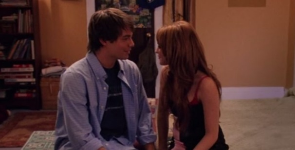 """There was a mini """"Mean Girls"""" reunion with Lindsay Lohan and Jonathan Bennett, and all is right"""