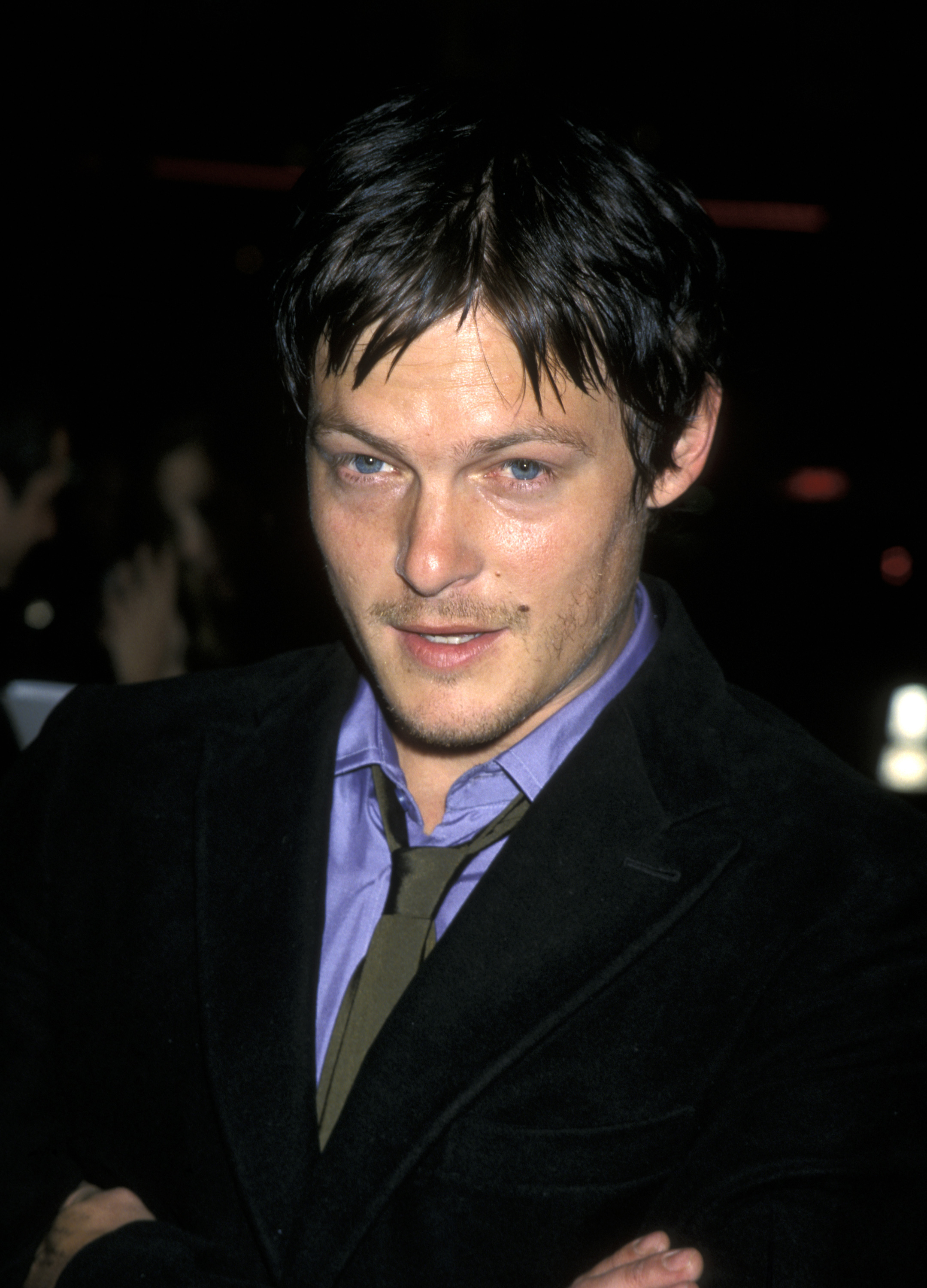 These old photos of Norman Reedus without the hair are ...