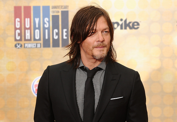 These old photos of Norman Reedus without the hair are like, WOW