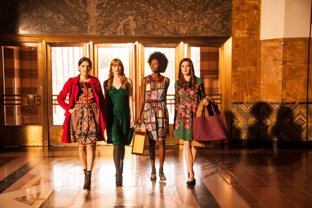 Modcloth's latest collection is filled with rich fall colors and intricate patterns
