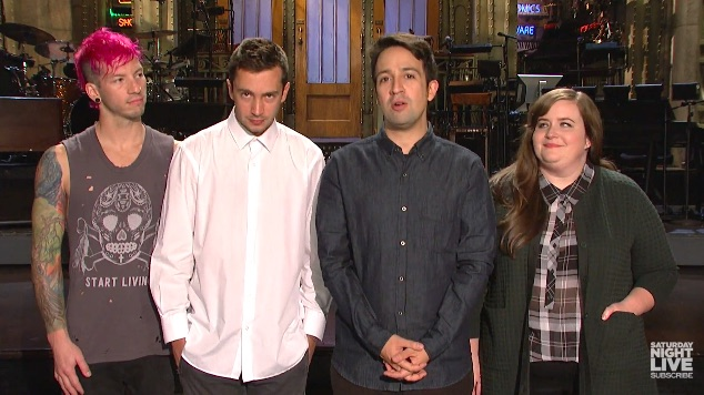 There are MORE Lin-Manuel Miranda SNL promos to be had everyone!