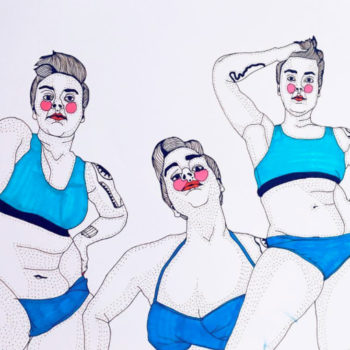 These body positive illustrations are AMAZING and will seriously make you love yourself a bit more