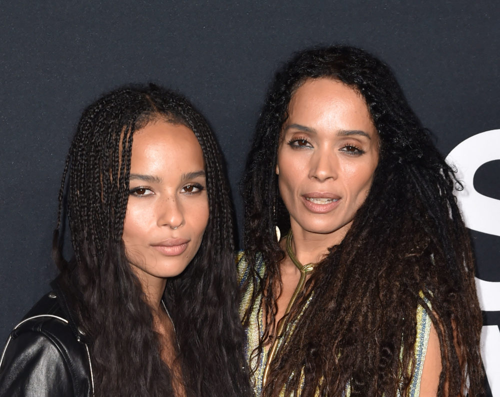 Zoë Kravitz caught that 'Luke Cage' shout out about her and her mom and she responded in the cutest way