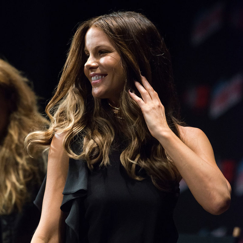 Kate Beckinsale has different bunny ears for different occasions and this is our new favorite accessory