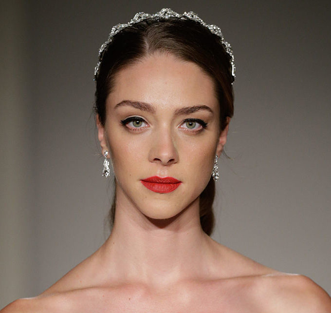 The hottest trend from bridal fashion week is seriously daring!