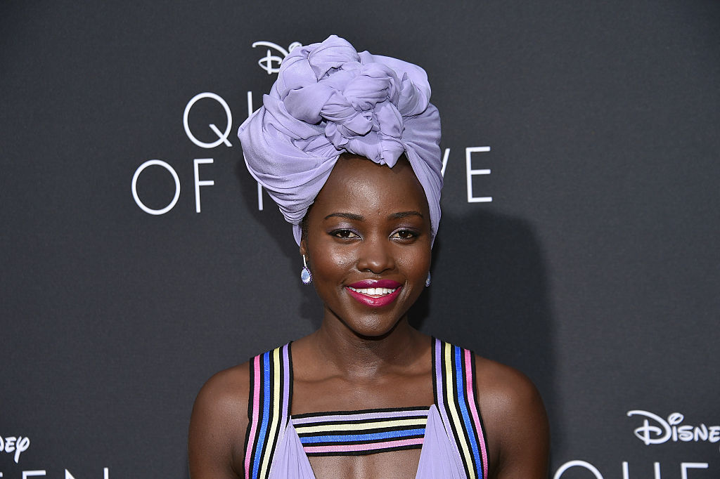 Can we talk about how gorgeous Lupita Nyongo's head wraps are?