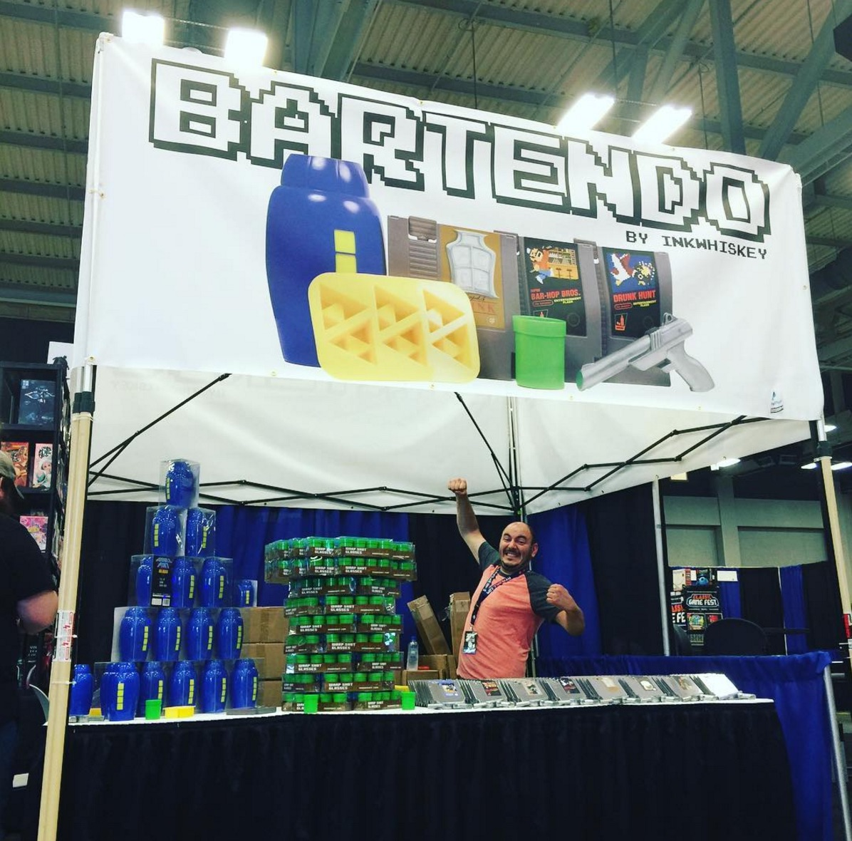 There was a Nintendo Bar at New York Comic Con and we need it to be everywhere