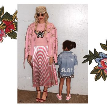 Beyoncé and Blue Ivy have a secret handshake, as if they weren't cute enough already