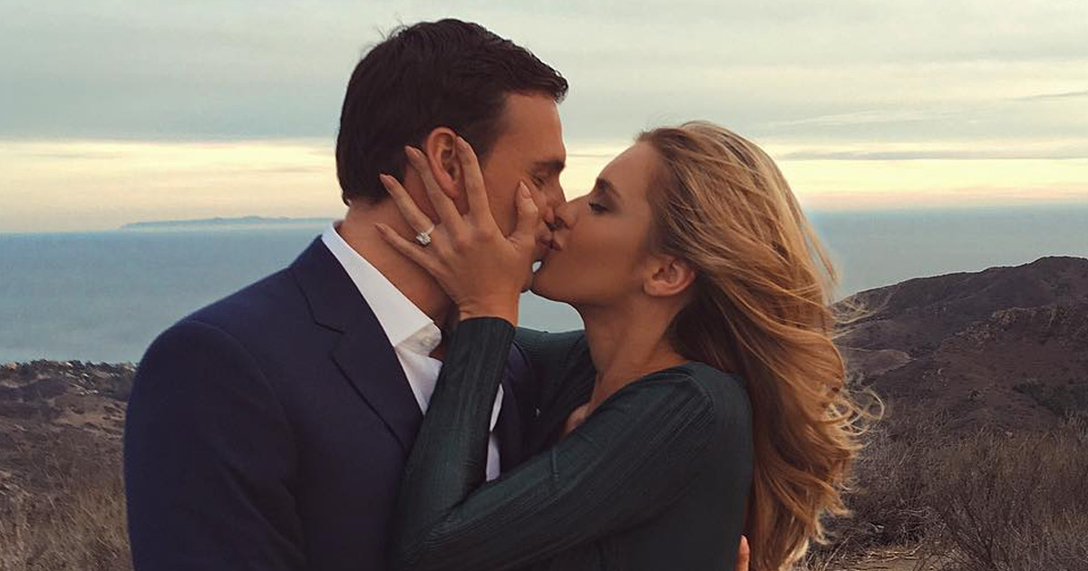 CONGRATS! Ryan Lochte and Kayla Rae Reid just got engaged!