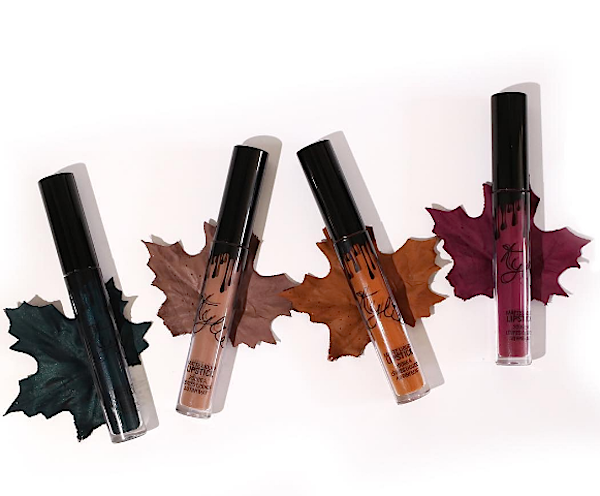 Kylie finally revealed her upcoming fall Lip Kits and we are swooning