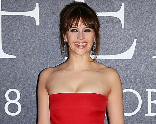 """Felicity Jones looked like a modern-day princess at the """"Inferno"""" premiere"""