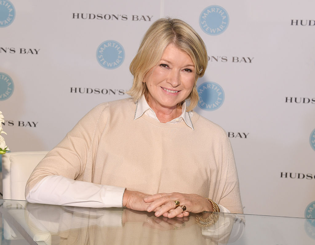 Martha Stewart is opening a chain of cafés and we're absolutely losing it