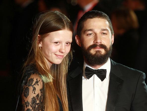 Oh wow, Shia LaBeouf just married his girlfriend Mia Goth in Vegas!