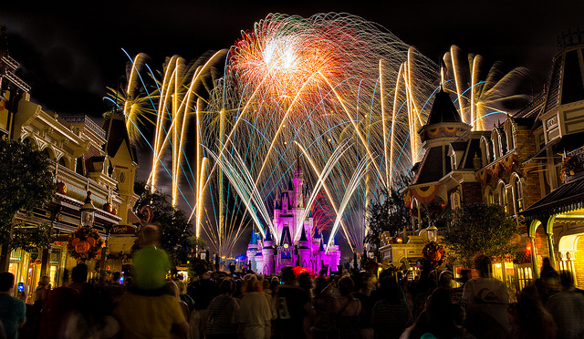 You can now get married *at night* in the Magic Kingdom at Disney World
