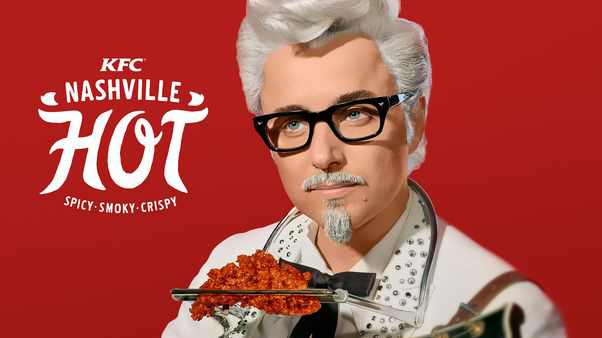 """Mad Men's"" Pete Campbell is the new Colonel Sanders, which is a sentence we honestly never thought we'd be writing"