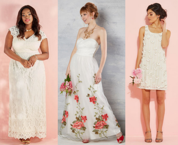 12 wedding dresses to nab during Modcloth's huge sale just in time for your fall nuptials