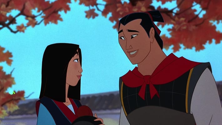 Mulan *will* have an Asian love interest, because at least some things are right in this world