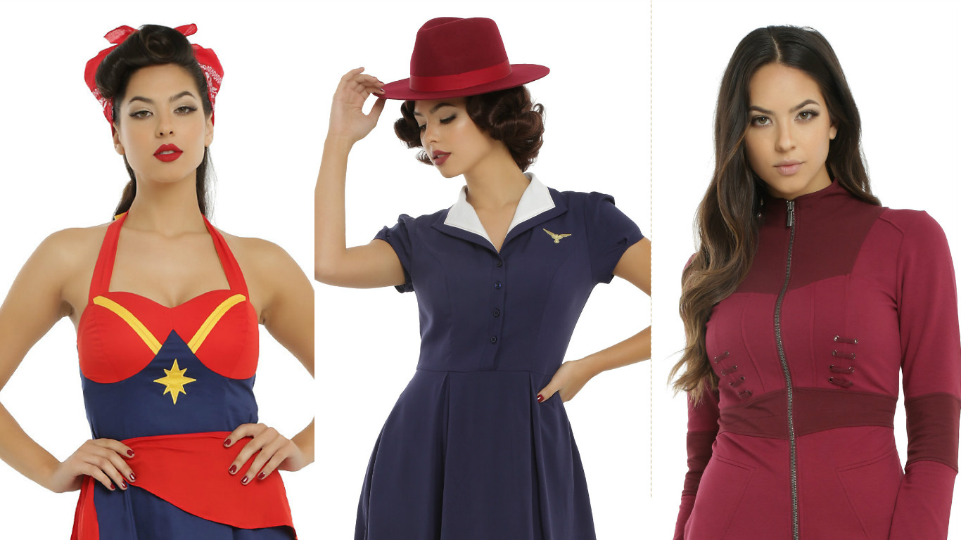 Hot Topic has a new lady-power Marvel line, and we need it ALL