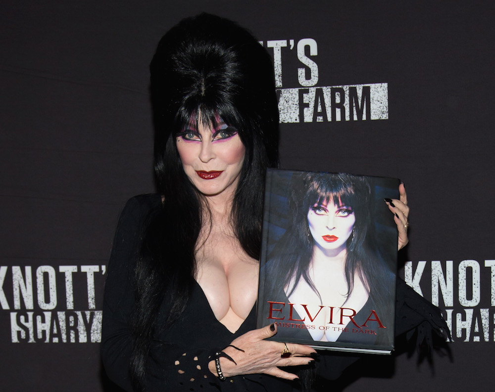This Elvira photography book is the ultimate celebration of the Queen of Halloween