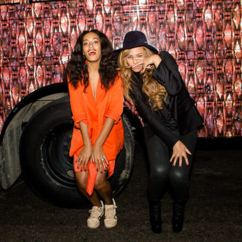 "Solange says growing up with Beyonce was like living in a ""master class,"" and we're jealous"