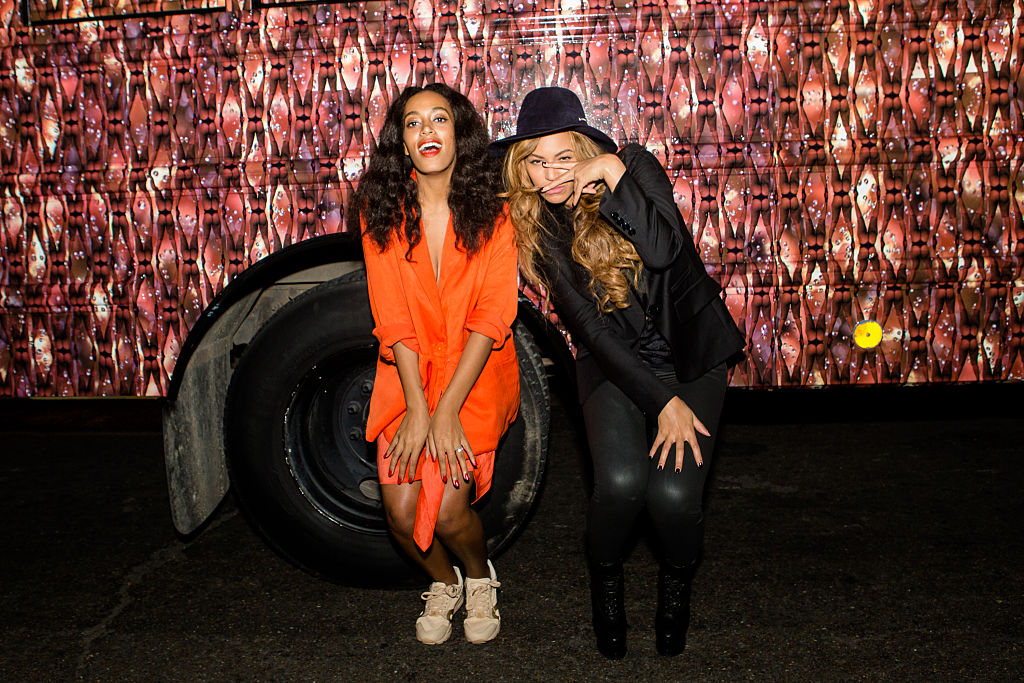 """Solange says growing up with Beyonce was like living in a """"master class,"""" and we're jealous"""
