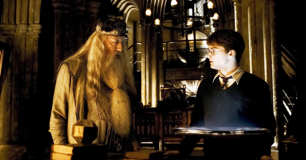 "This guy made his wife a real Pensieve from ""Harry Potter"" and it's too romantic"