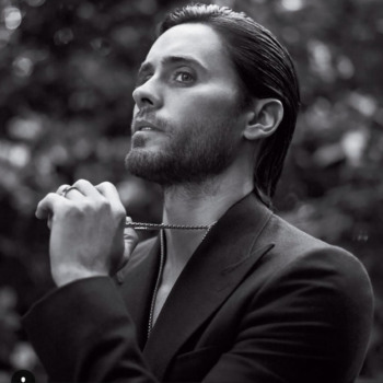 Jared Leto reveals the secret to his enviable hair—and we need to try this
