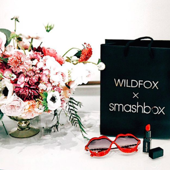 Smashbox teamed up with clothing brand Wildfox Couture on the sweetest lipstick collab ever
