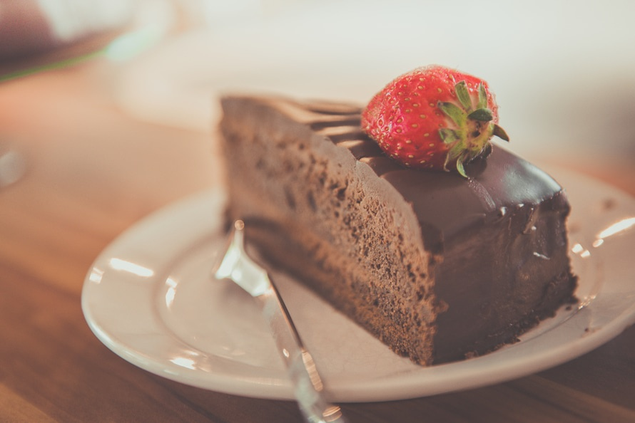 Chocolate cake is probably the newest brunch trend, our dreams are coming true