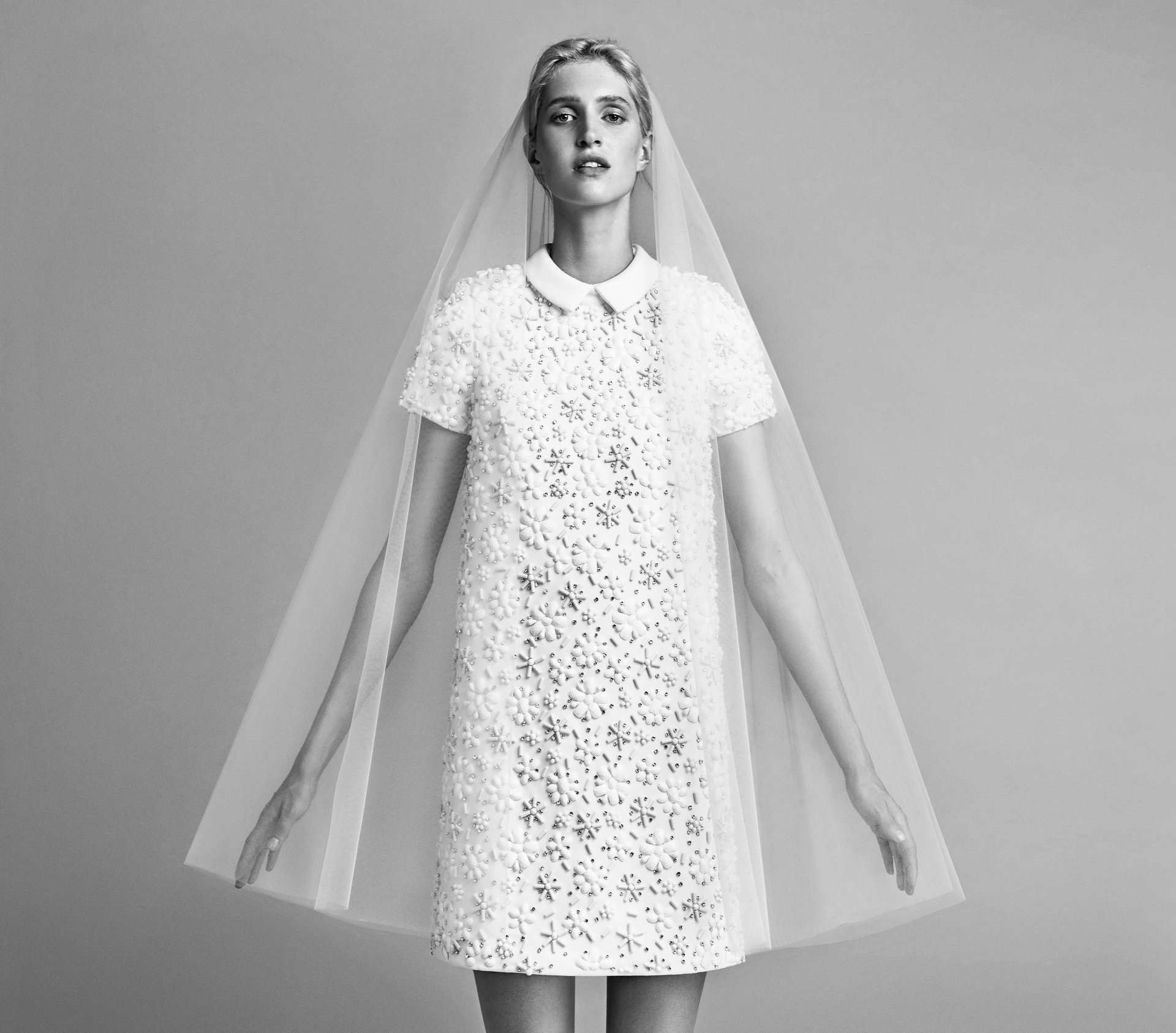 This wedding collection is perfect for a modern bride who's *tired* of tradition