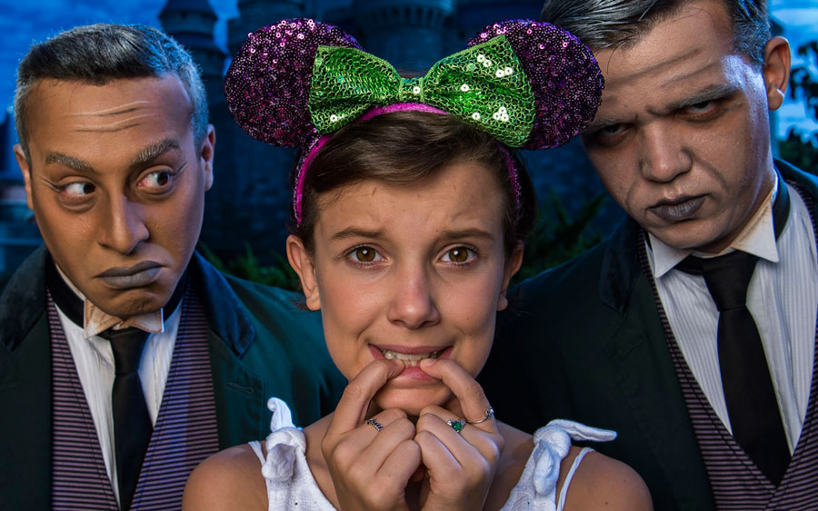 Millie Bobby Brown took the cutest photos at Disney World and we're not sure who we're more jealous of