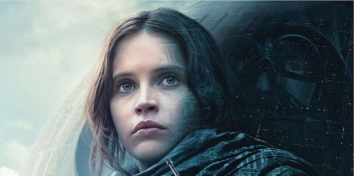 "The new ""Rogue One"" poster is giving us major old school ""Star Wars"" vibes"