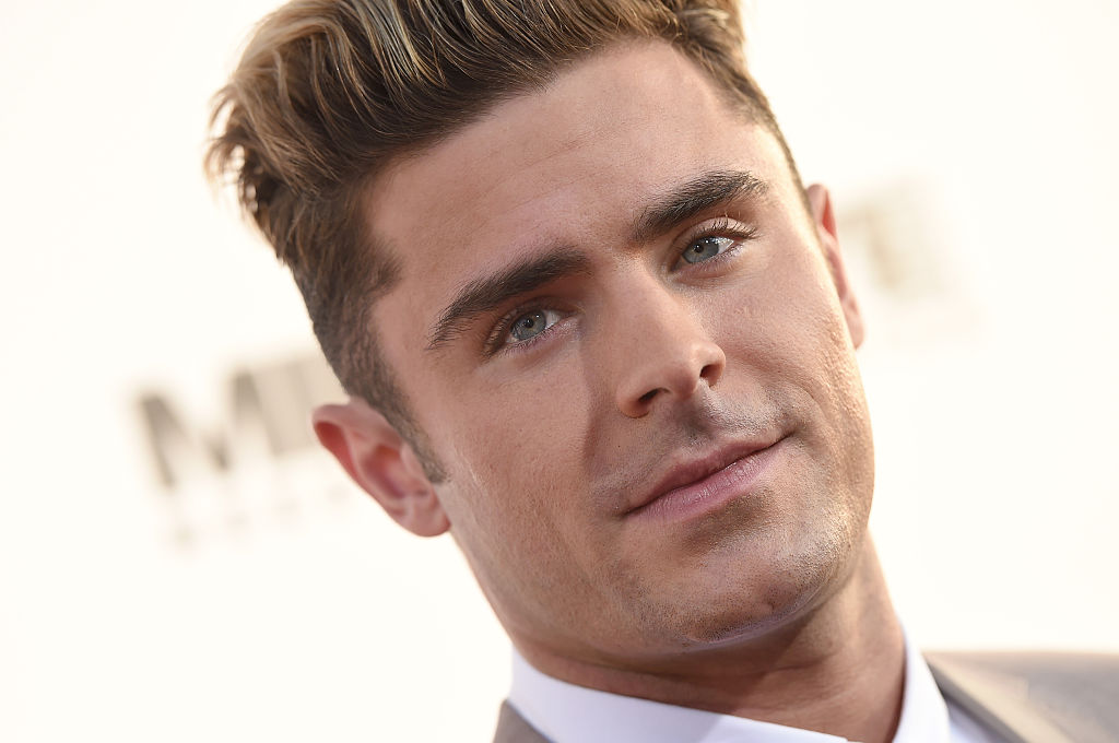 Zac Efron posted a selfie in nail polish for an incredible reason, and we've never loved him more