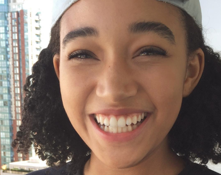 Amandla Stenberg's excitement over turning 18 is basically the cutest thing we've ever seen