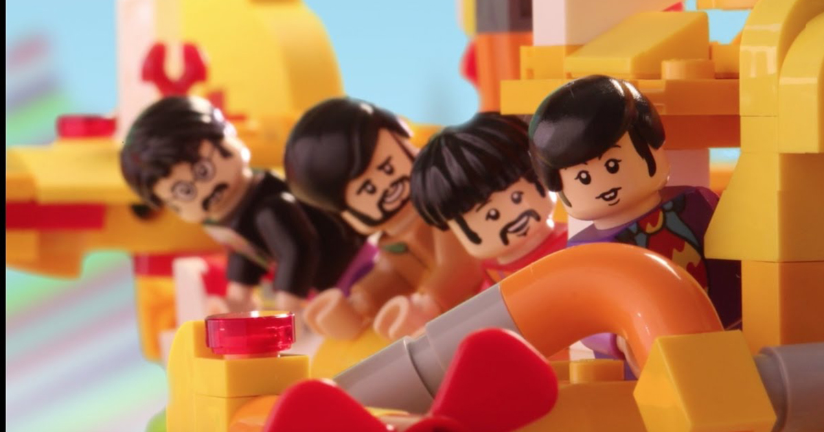 Lego is releasing a Beatles set and now you can actually live in a yellow submarine
