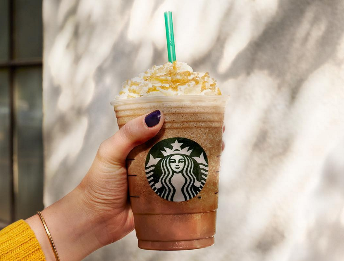 This may be the biggest Starbucks Frappuccino of all time, and whoa
