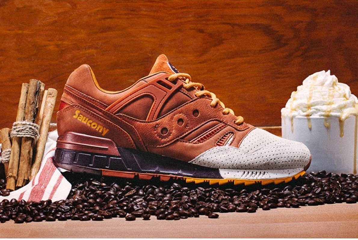 Saucony is making pumpkin spice latte sneakers, because of course