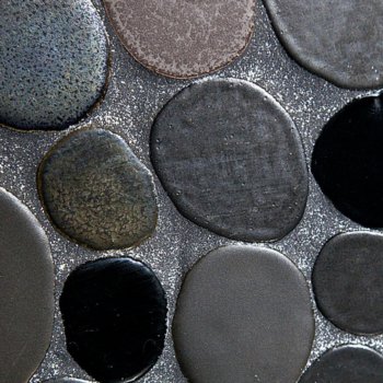 "Now you can live in a sparkly dream house because ""glitter grout"" exists"