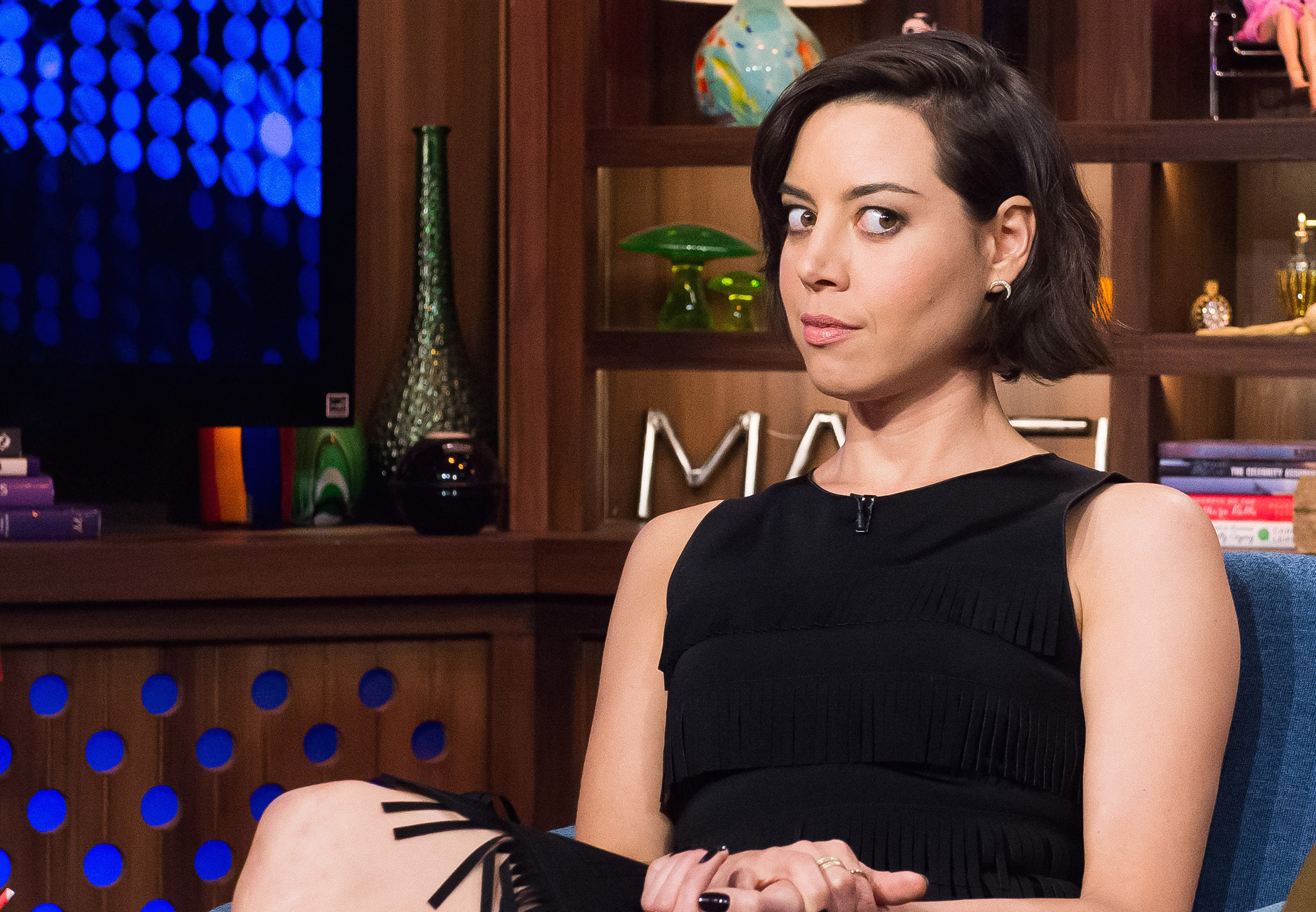 Aubrey Plaza has a ~spooky~ new show in the works, and we are here for it