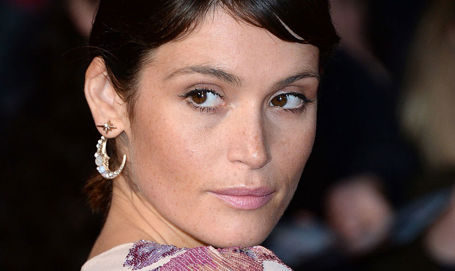 Gemma Arterton just crushed the red carpet looking like a diamond disco queen