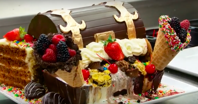 We are speechless over this decadent AF $99 sundae