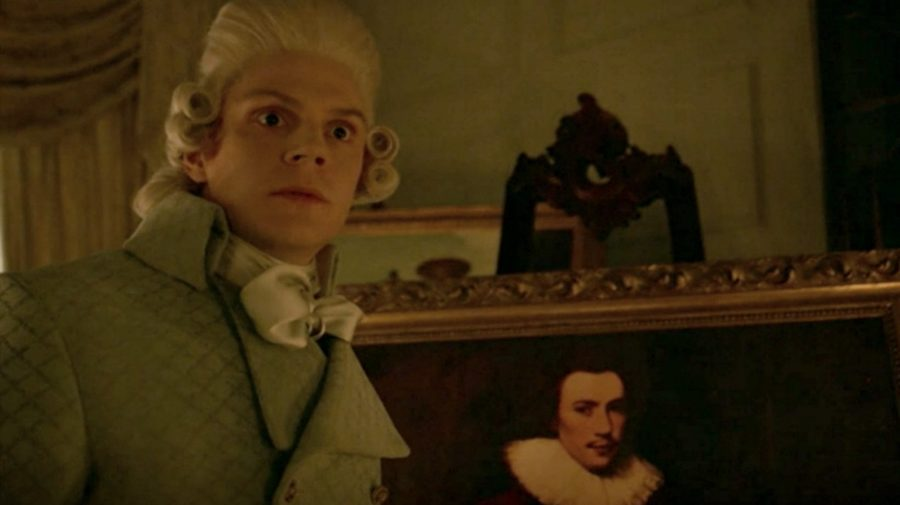 "Evan Peters shared a behind-the-scenes pic from last night's ""AHS"" episode, we have some feelings"