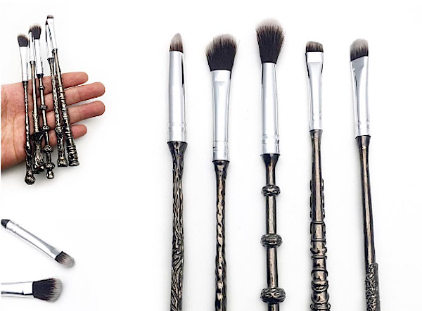 """Harry Potter"" makeup brushes that look like Wizard Wands are coming"